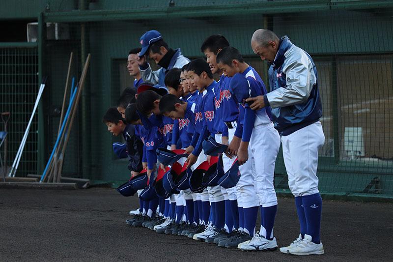 水みらいカップ少年野球大会 開催中の様子